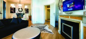 Charles' Home, des chambres d'hôtes appartement de luxe à Bruxelles © Henri Deroche