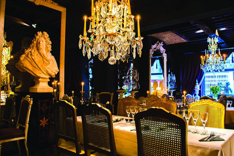 Le Salon Des Lumières, restaurant insolite à Mons