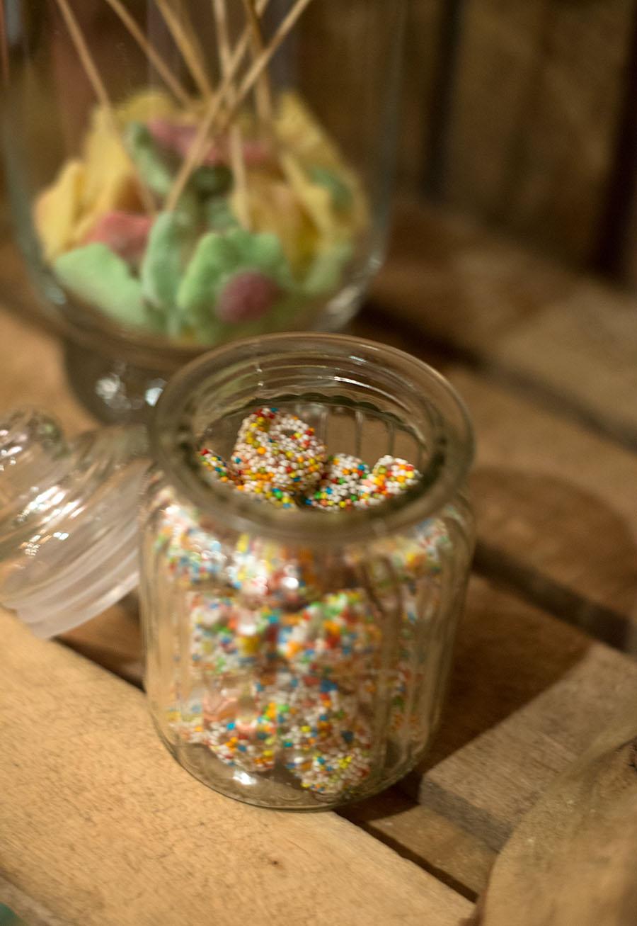 Ma cerise sur le gateau, créations gourmandes de buffets de bonbons © Michel Masquelier