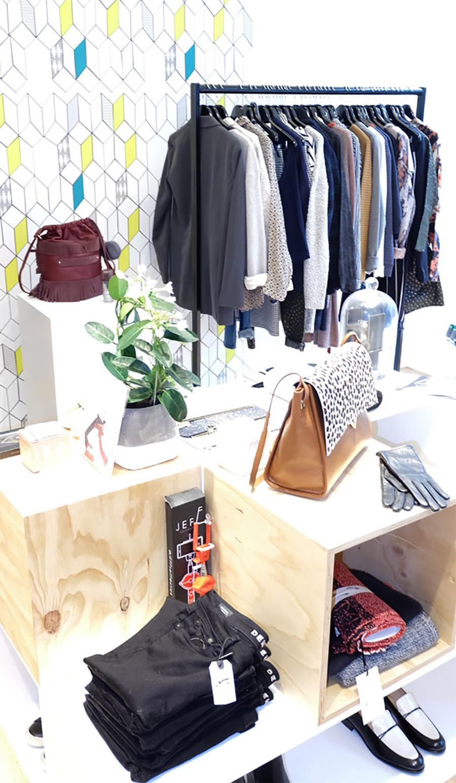 Mellow concept store à Bruxelles mode féminine et accessoires