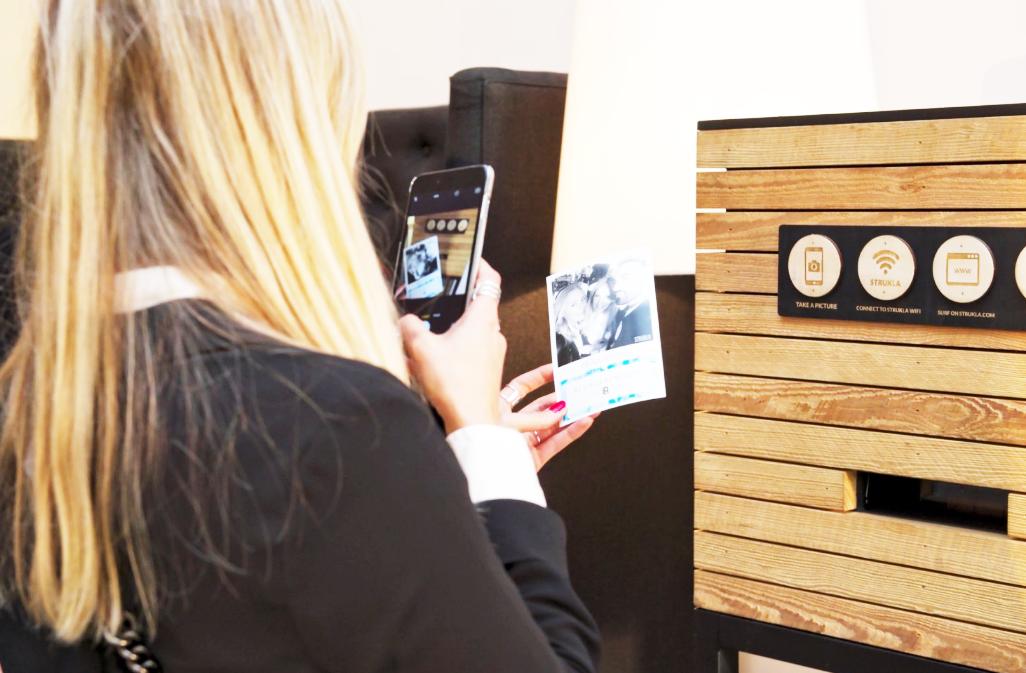 strukla, la machine vintage polaroid instantanée pour vos événements insolites