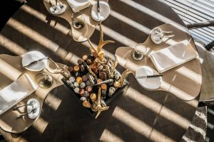 """Bonbon, restaurant gastronomique à bruxelles. Etoilé et excellente adresse romantique dans le livre """"Magique Bruxelles"""""""