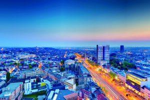 The Hotel, à Bruxelles. Hotel panoramique de luxe pour une nuit romantique dans le uptown. Un partenaire Please Surprise Me! © Olivier Pirard