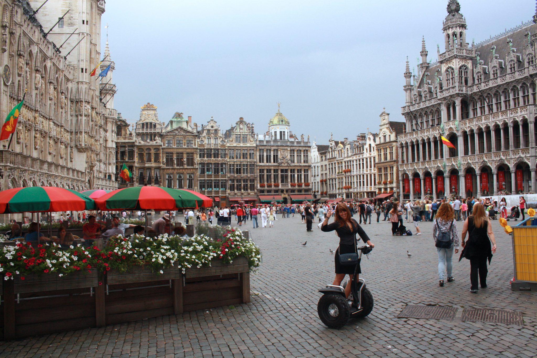 Segway, une escapade à 2 roues à Bruxelles